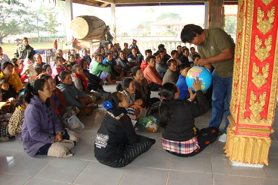 All of HPP Laos' projects have a strong community focus, and are centred on villagers' needs.